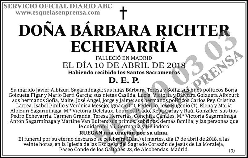 Bárbara Richter Echevarría